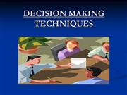 decision making skill