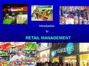 1.Introduction to retail