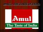 (DHAVAL)  AMUL - THE TASTE OF INDIA