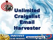 unlimited craigslist email harvester