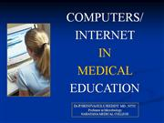 COMPUTER  in medical education