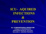 ICU infections AND PREVENTION