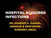 REDUCING HOSPITAL INFECTIONS