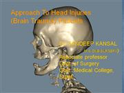 Approach To Head Injuries