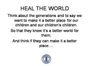 interact district 5110 - heal the world