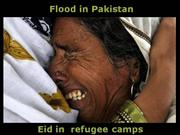 Flood in Pakistan-part 11-EID in Refugee Camps
