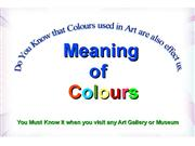 meaning of colours