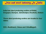 INDUSTRY IN INDIA