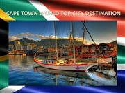CAPE TOWN WORLD TOP CITY DESTINATION