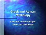 Greek and Roman Gods Review PPT A