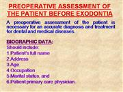 PREOPERATIVE_ASSESSMENT_OF_THE_PATIENT_BEFORE_EXODONTIA