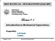 Mechanical Separations Lecture_01