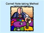 Cornell Note-taking Method