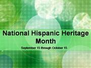 Sep 2005 Hispanic Heritage
