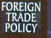 Foreign Trade Policy (2009-2014)