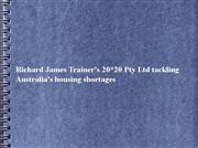 richard james trainer's 20*20 pty ltd