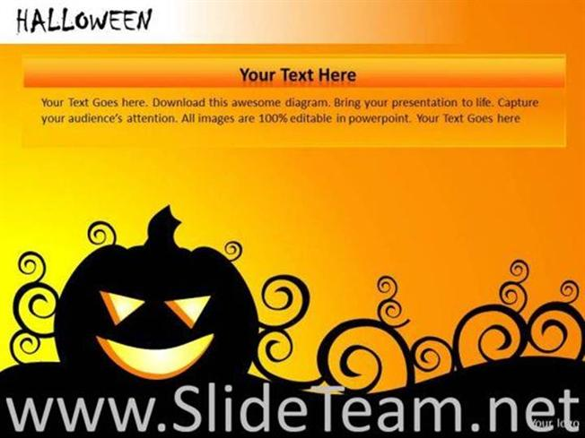 halloween powerpoint backgrounds and ppt themes powerpoint diagram