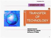 transfer of technology
