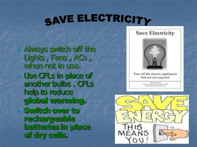 Save electricity device powerpoint templates | powerpoint.