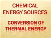 Conversion of thermal energy