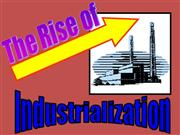 How did Industrialization happen PWPT