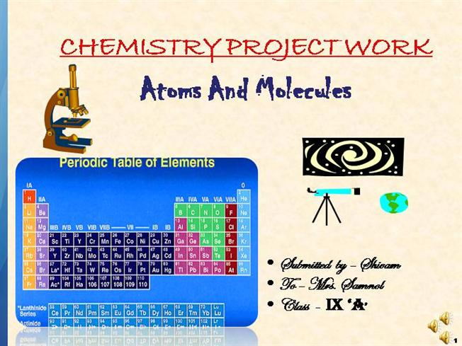 atoms and molecules |authorstream, Powerpoint templates
