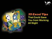 35 Excel Tips  That Could Save You from Working All Night