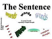 sentence meaning