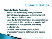wk4S Financial Ratios