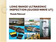 Long Range Ultrasonic Inspection (Guided Wave UT