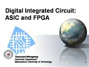 Digital Integrated Circuit ASIC and FPGA