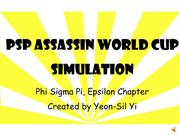 PSP World Cup simulation