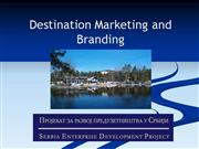 Destination Marketing and Branding