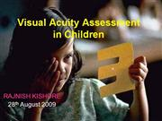 visual acuity in children