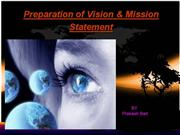 Visionand Mission Statement