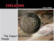 Inflation: Impact on Common People