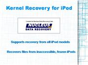 Ipod Recovery Software