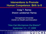 RAMEY Sept 2008 How Can We Improve Our Brains