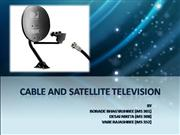 cable and satellite tv