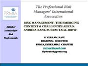 Challenges in Risk Management in Banks