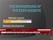 The history of the espn website