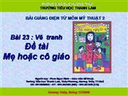 MT2_Ve tranh de tai me va co