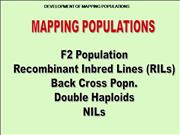 How to develop mapping populations