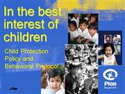Child Protection Policy - DSWD ABSNET