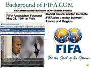 Background of FIFA
