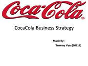CocaCola Business Strategy
