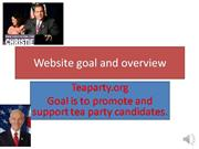 tea party power point