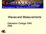 Waves & Measurements