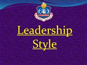 presentation on leadership style