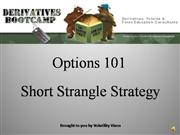 SHORT STRANGLE STRATEGY
